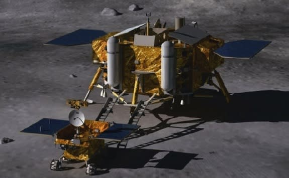 China Lands On The Moon: Historic Robotic Lunar Landing Includes 1st Chinese Rover