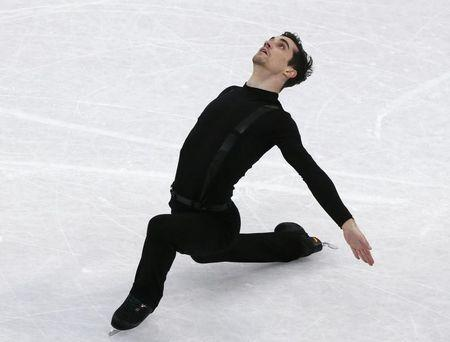 Figure Skating - ISU World Championships 2017 - Men's Short Program - Helsinki, Finland - 30/3/17 - Javier Fernandez of Spain competes. REUTERS/Grigory Dukor
