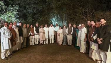 According to sources, leaders of NCP, RJD, Samajwadi Party, Bahujan Samaj Party, Trinamool Congress, DMK and Left parties attended the dinner among others.