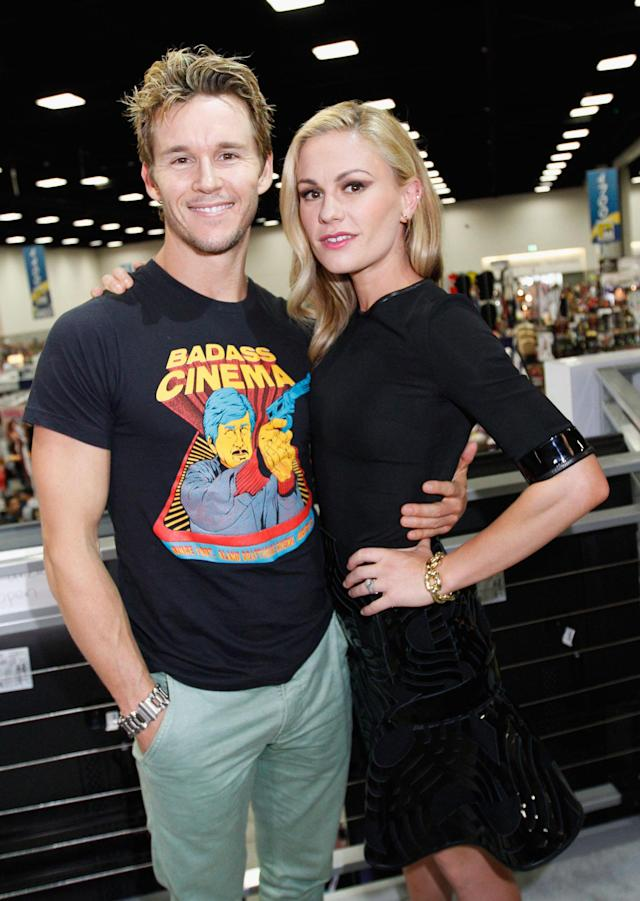 "Ryan Kwanten and Anna Paquin attend HBO's ""True Blood"" Cast Autograph Signing at San Diego Convention Center on July 20, 2013 in San Diego, California."