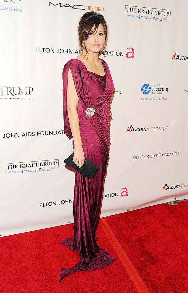 "Gina Gershon was on hand to support the cause, and looked stunning as always. Hard to believe she's 47! Andrew H. Walker/<a href=""http://www.wireimage.com"" target=""new"">WireImage.com</a> - November 16, 2009"