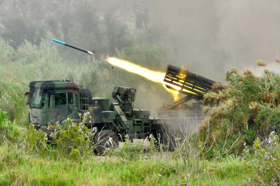 File image: Taiwan has been bolstering its defence in the wake of rising threats from China (AFP via Getty Images)