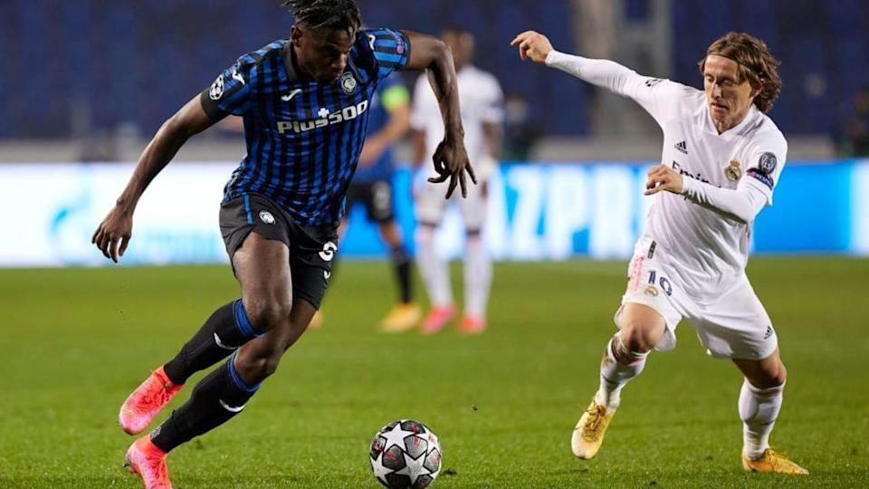 Zapata contro il Real Madrid | Quality Sport Images/Getty Images