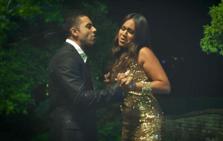 The pair starred in the music video together, playing on-screen lovers with quite the sizzling chemistry. Source: Sony