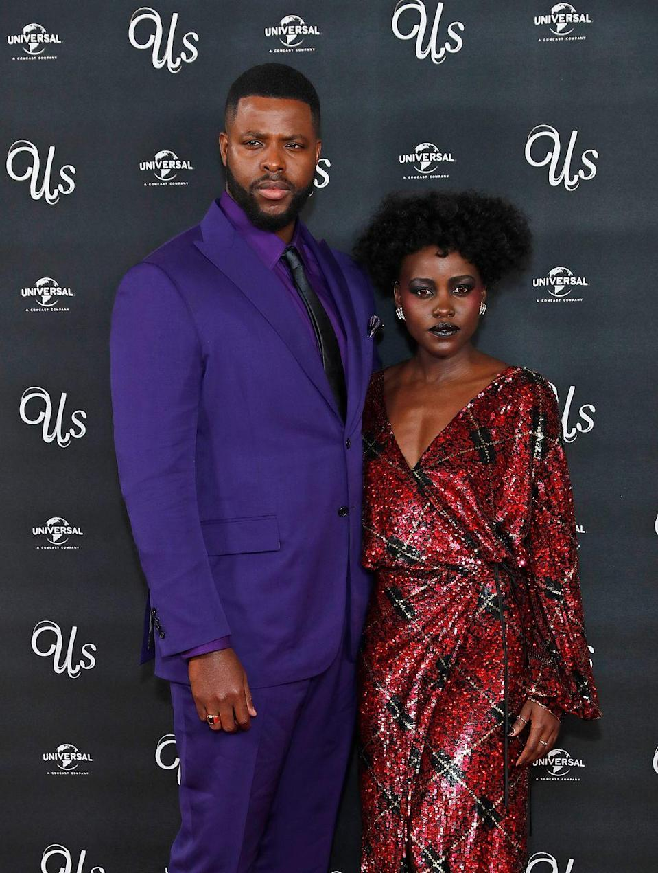 "<p>The 2017 Marvel Cinematic Universe blockbuster hit <em>Black Panther</em> might have been Lupita Nyong'o and Winston Duke's first time working together on-screen, but their connection goes way back. The <em>Us</em> co-stars and real life friends attended Yale University's School of Drama at the same time; Nyong'o even gave Duke a tour of the campus on his first day of school. The duo grew close over time, oblivious when they watched the first <em>Avengers</em> film together that they would be joining the MCU years later. </p><p>""[Lupita] and I became really close because we shared that immigrant experience,"" Duke told <em><a href=""https://www.esquire.com/entertainment/movies/a18199538/winston-duke-black-panther-m-baku-interview/"" rel=""nofollow noopener"" target=""_blank"" data-ylk=""slk:Esquire"" class=""link rapid-noclick-resp"">Esquire</a></em>. He hails from Trinidad, and the Academy Award winner, whose family is Kenyan, was born in Mexico. ""We shared the idea of having really big dreams knowing that we'd left our own country.""</p>"
