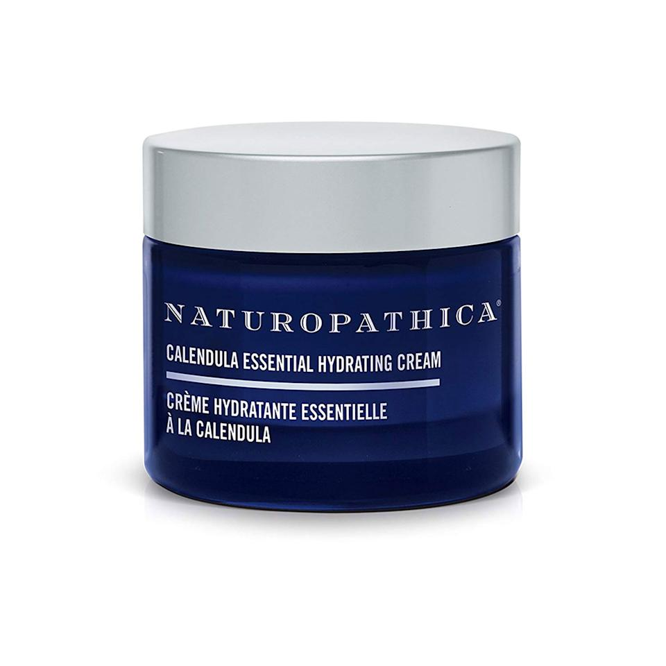 """<p>There's nothing <em>not</em> to love about Naturopathica's Calendula Essential Hydrating Cream, which features soothing ingredients like calendula, aloe vera, and borage seed oil, as well as deeply hydrating rose oil. Slather a dollop of this on dry, flaky skin and you'll find it offers relief that — unlike some moisturizers — lasts all day.</p> <p><strong>$59</strong> (<a href=""""https://shop-links.co/1689259208394014912"""" rel=""""nofollow"""">Shop Now</a>)</p>"""