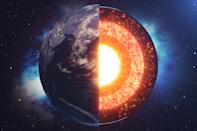 5. The Earth's core is as hot as the surface of the Sun (5,800K) or 10,000 degrees Fahrenheit.