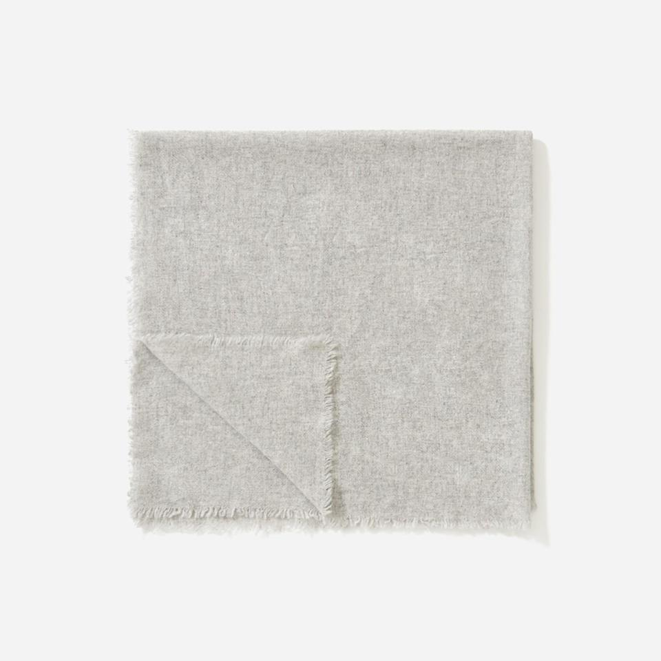 """<p><strong>everlane</strong></p><p>everlane.com</p><p><a href=""""https://go.redirectingat.com?id=74968X1596630&url=https%3A%2F%2Fwww.everlane.com%2Fproducts%2Fwomens-cashmere-kerchief-heather-grey&sref=https%3A%2F%2Fwww.townandcountrymag.com%2Fstyle%2Ffashion-trends%2Fg34822978%2Feverlane-cyber-monday%2F"""" rel=""""nofollow noopener"""" target=""""_blank"""" data-ylk=""""slk:Shop Now"""" class=""""link rapid-noclick-resp"""">Shop Now</a></p><p><strong><del>$50</del> $35 (30% OFF)</strong></p>"""