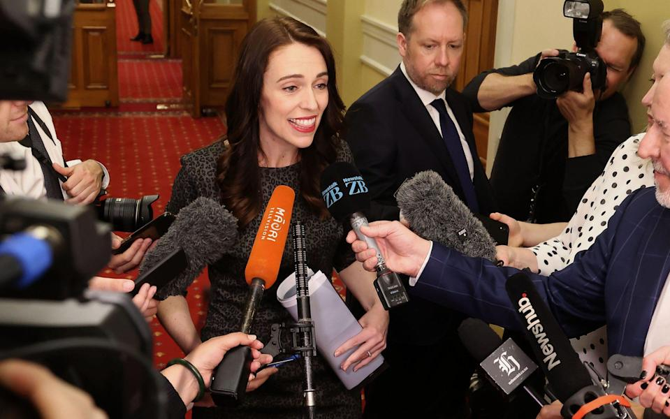 Jacinda Ardern supported the right-to-die bill - GETTY IMAGES