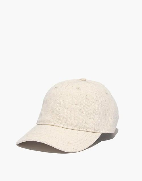 <p>This <span>Madewell Cotton-Linen Baseball Cap</span> ($30) is timeless.</p>