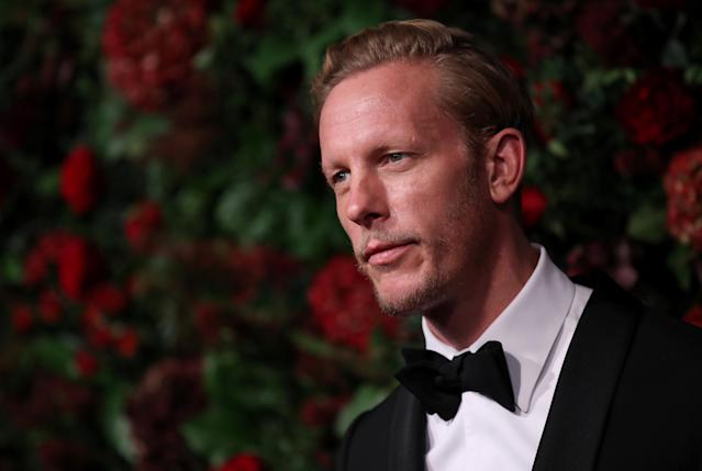 Laurence Fox attends the 65th Evening Standard Theatre Awards at the London Coliseum on November 24, 2019 in London (Mike Marsland/WireImage)