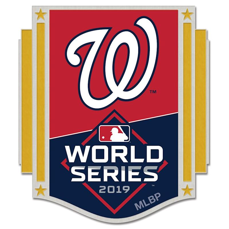 Nationals 2019 World Series Bound Collector Pin