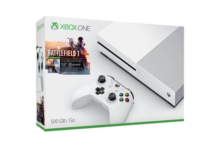 XBOX ONE S 500GB BATTLEFIELD 1 BUNDLE + FREE $40 GIFT CARD