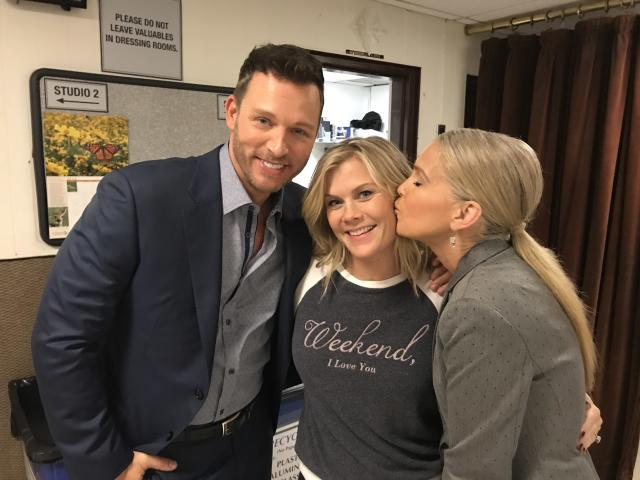 "<p><a href=""https://www.instagram.com/EricMartsolf/"" rel=""nofollow noopener"" target=""_blank"" data-ylk=""slk:@EricMartsolf"" class=""link rapid-noclick-resp"">@EricMartsolf</a> always keeps me laughing. I love working with him And then in sneaks the adorable, <a href=""https://www.instagram.com/explore/tags/melissareeves/"" rel=""nofollow noopener"" target=""_blank"" data-ylk=""slk:#MelissaReeves"" class=""link rapid-noclick-resp"">#MelissaReeves</a> with a hello kiss. She's one of my favorite people. love <a href=""https://www.instagram.com/explore/tags/days/"" rel=""nofollow noopener"" target=""_blank"" data-ylk=""slk:#Daysfamily"" class=""link rapid-noclick-resp"">#Daysfamily</a> — <a href=""https://www.instagram.com/alisweeney/"" rel=""nofollow noopener"" target=""_blank"" data-ylk=""slk:@alisweeney"" class=""link rapid-noclick-resp"">@alisweeney</a><br><br>(Photo: Instagram) </p>"