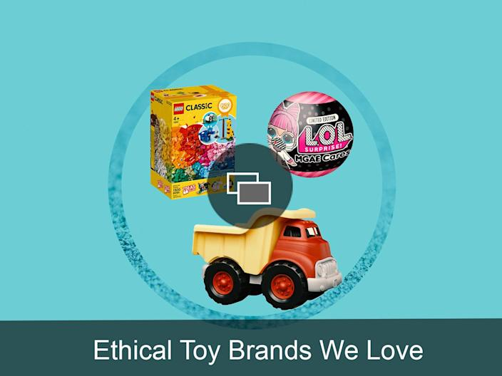 ethical charitable toy brands
