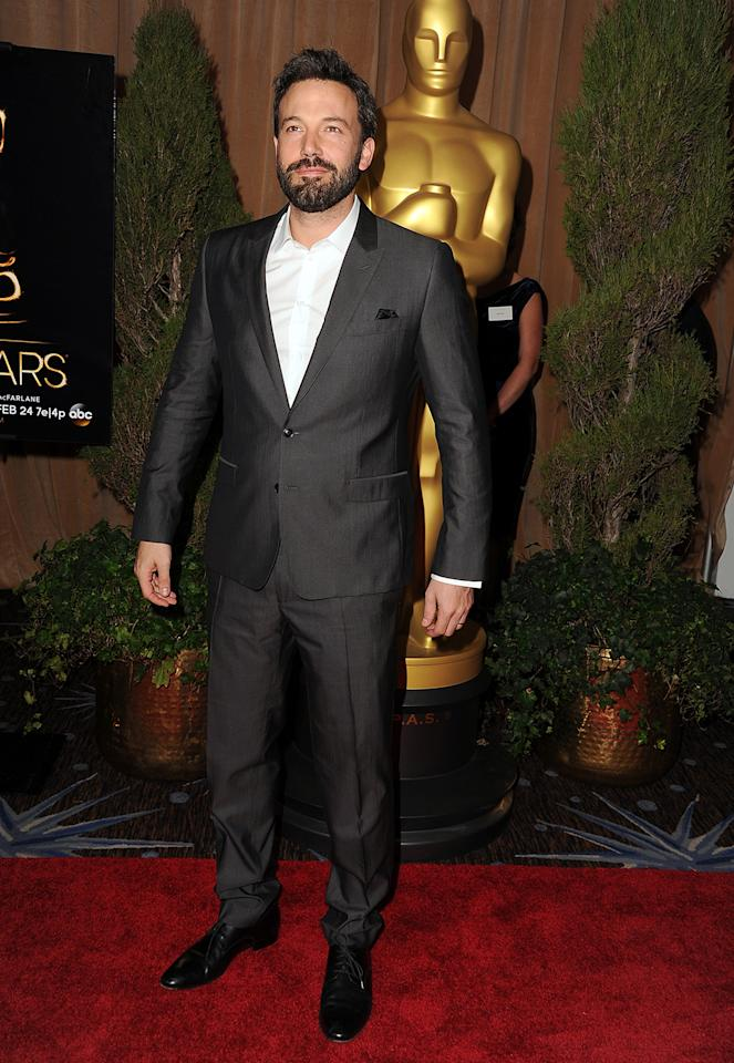 Ben Affleck attends the 85th Academy Awards Nominees Luncheon at The Beverly Hilton Hotel on February 4, 2013 in Beverly Hills, California.  (Photo by Steve Granitz/WireImage)