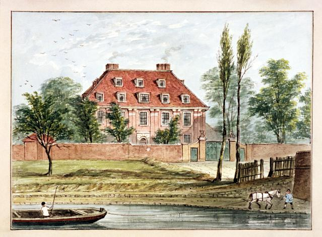 Baumes House, one of many long-lost mansions that once littered this corner of London - City of London / Heritage-Images