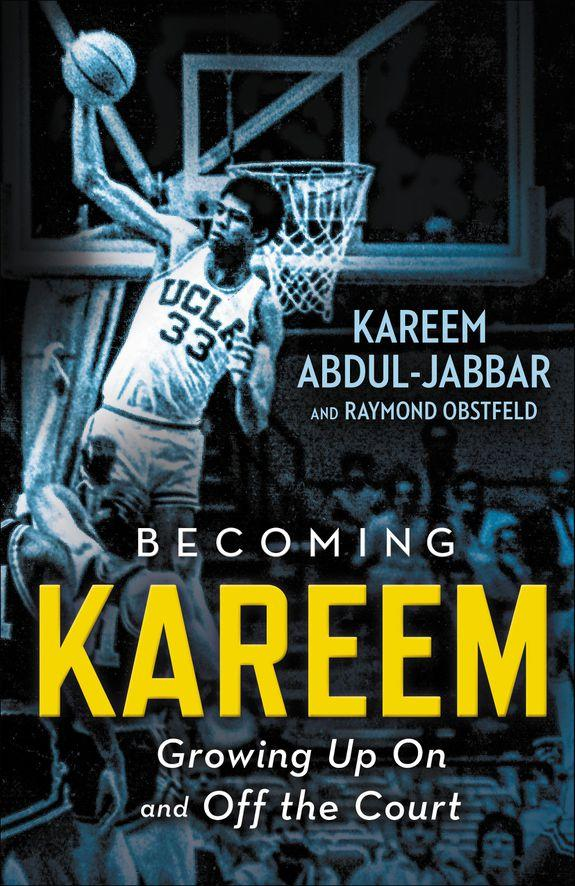 "An exclusive first look at the cover for ""Becoming Kareem,"" which goes on sale this November."