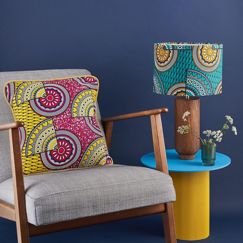 "<p><strong>Here we're highlighting Black-owned interiors brands in the UK selling soft furnishings and accessories to help you personalise your home.</strong></p><p>You can update your space in an instant with patterned lampshades and cushion covers; create a sanctuary with luscious houseplants and scented candles; and streamline your home with ethical storage baskets. <br></p><p>So breathe new life into your living space with these beautiful homewares and accessories and, most importantly, show support for the Black community and Black-owned businesses, creatives and entrepreneurs – not just on <a href=""https://www.housebeautiful.com/uk/lifestyle/shopping/a32944794/black-pound-day/"" rel=""nofollow noopener"" target=""_blank"" data-ylk=""slk:Black Pound Day"" class=""link rapid-noclick-resp"">Black Pound Day</a>, but now, tomorrow and forever.</p><p>We'll continue to add to this collection. In the meantime, add these brands to your shopping list...</p>"