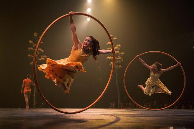 <p>No. 9: Cirque du Soleil <br>Last year's rank: N/A<br>(THE CANADIAN PRESS/Chris Young) </p>