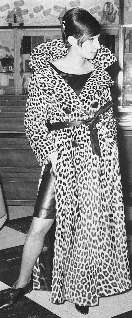 <p>If loving Barbra Streisand's leopard print trench with a slit down the side is wrong, who would want to be right?</p>
