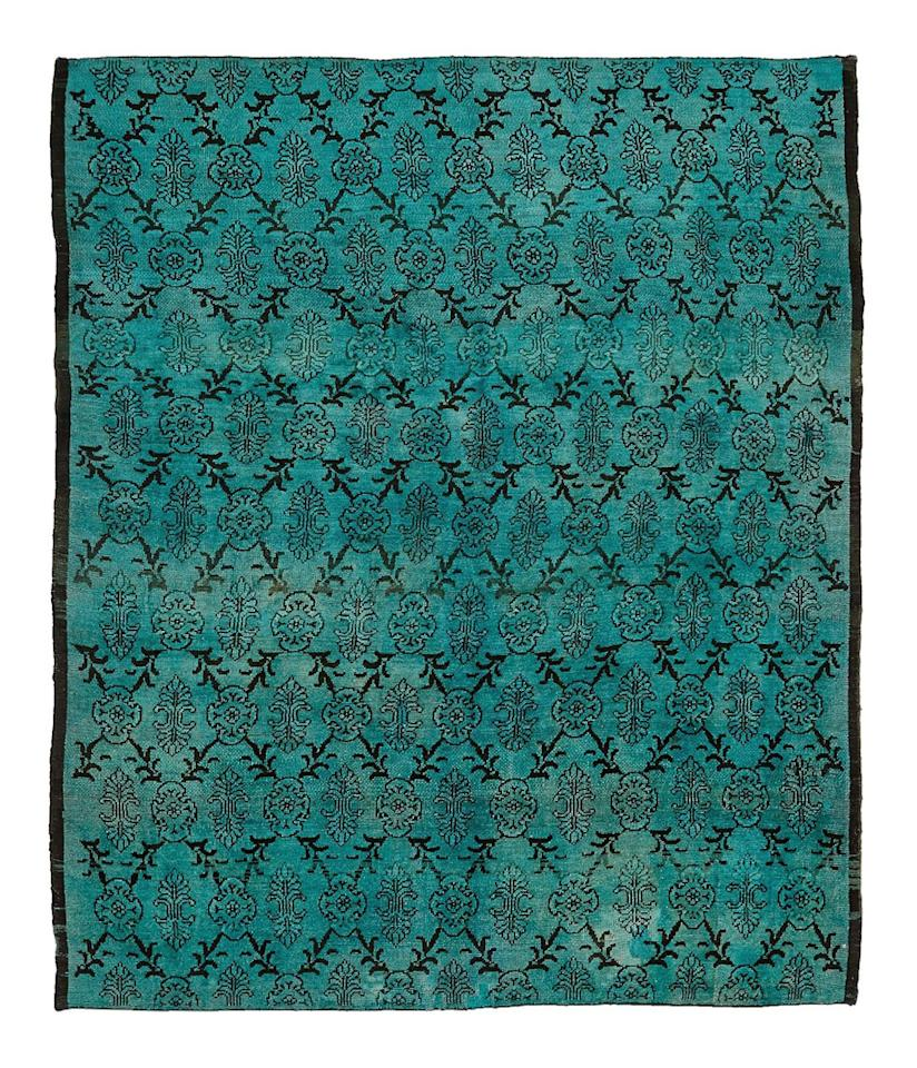 """<p>Sale: Take 20 percent off rugs, carpets, furniture, lighting, bed, bath and mirrors<br />When: Nov. 25<br />Where: in-store and online<br />Code: Grateful — online only<br />Color Reform Overdyed Rug, $4,250, <a rel=""""nofollow"""" href=""""http://www.abchome.com/shop/color-reform-wool-rug-8-7-x10-2-1278593"""">abchome.com</a> </p>"""