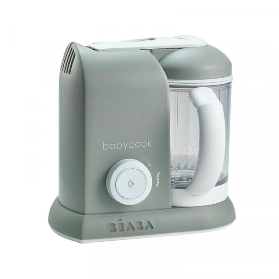 """$150, Williams-Sonoma. <a href=""""https://www.williams-sonoma.com/products/beaba-babycook-cloud-steam-cooker-and-blender/"""">Get it now!</a>"""
