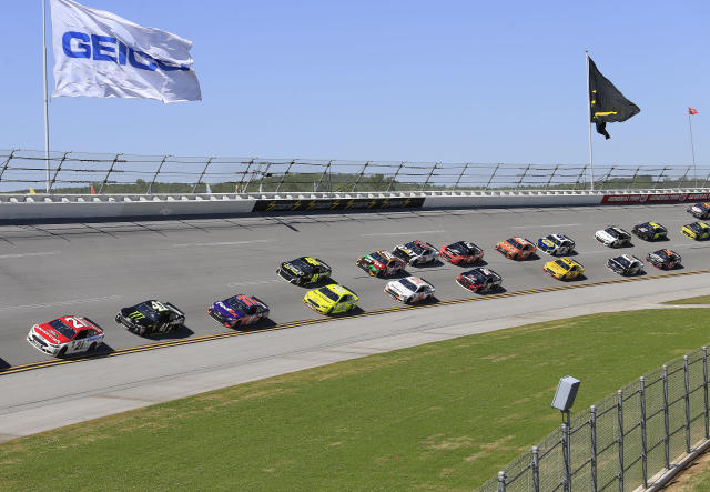 Welcome to Talladega. (Photo by David J. Griffin/Icon Sportswire)
