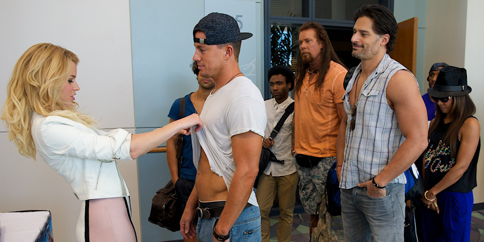 <p>As is the case with several other movies on this list, <em>Magic Mike XXL </em>is a road trip movie, but its most pivotal scene takes place in South Carolina, where the guys have driven for a stripper convention. Excuse me, <em>male entertainer</em> convention. </p>