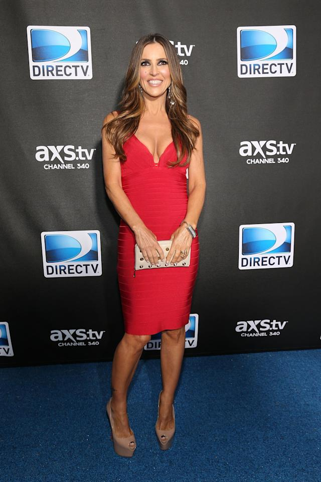 NEW ORLEANS, LA - FEBRUARY 02: Jillian Barberie attends DIRECTV Super Saturday Night Featuring Special Guest Justin Timberlake & Co-Hosted By Mark Cuban's AXS TV on February 2, 2013 in New Orleans, Louisiana. (Photo by Neilson Barnard/Getty Images for DirecTV)