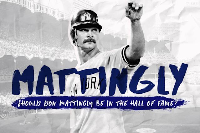 Let's take a look at Don Mattingly's case for the Hall of Fame. (Amber Matsumoto/Yahoo Sports)