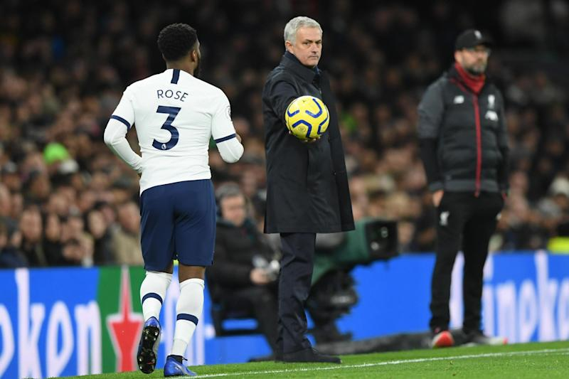 Mourinho says Rose was left out against Watford due to a back problem: Getty Images