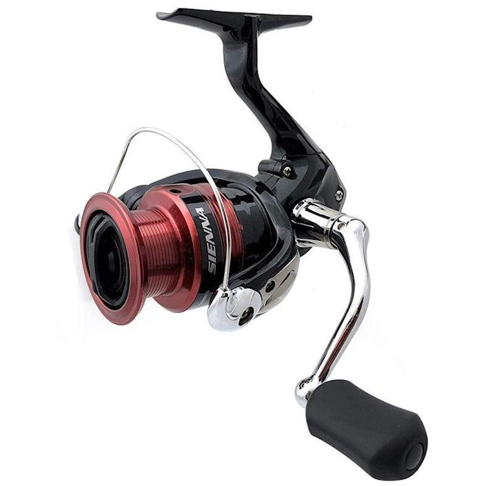 """<p><strong>Shimano</strong></p><p>amazon.com</p><p><strong>$34.25</strong></p><p><a href=""""https://www.amazon.com/dp/B07WK5NSN8?tag=syn-yahoo-20&ascsubtag=%5Bartid%7C10060.g.37171383%5Bsrc%7Cyahoo-us"""" rel=""""nofollow noopener"""" target=""""_blank"""" data-ylk=""""slk:Shop Now"""" class=""""link rapid-noclick-resp"""">Shop Now</a></p><p><strong><strong>• Gear Ratio: </strong></strong>5.6:1<br><strong>• </strong><strong>Weight: </strong>6.3 oz.<strong><br>• Size: </strong>4 lb./100 yards</p><p>I own this Sienna for ultralight fishing, and it's a smooth-running, quality Shimano reel despite its budget price tag. The reel casts farther than its light weight would lead you to believe, and the front drag and Super Stopper II anti-reverse system stops any back play quickly without any play in reverse.</p><p>At around $30, it makes it easier to justify owning a separate setup for ultralight fishing specifically. The Sienna also comes in a range of sizes, so if you're fishing for a mix of species, you can go a bit heavier with models up to the 4000 size, which can handle 12-pound test line.</p>"""