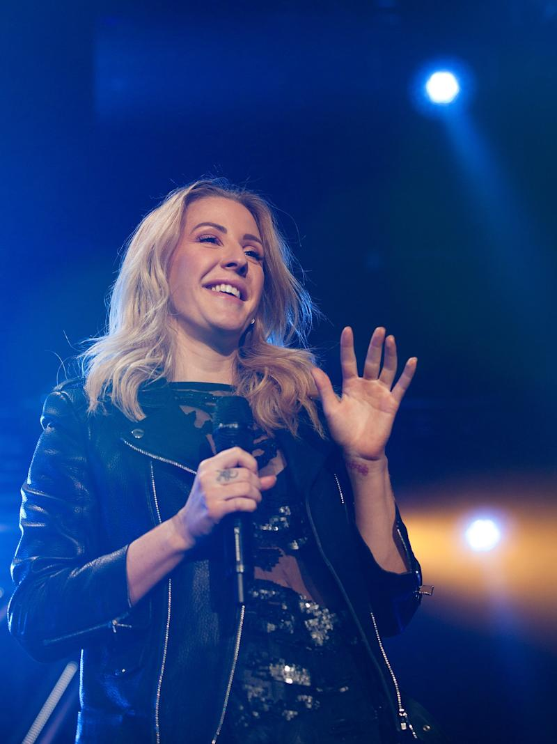 Ellie Goulding Opens Up About Anxiety