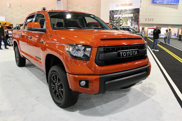 <p>No. 5: Toyota Tundra<br>Value retained:<br>60.7 per cent after three years<br>49 per cent after five years<br>(Flickr) </p>