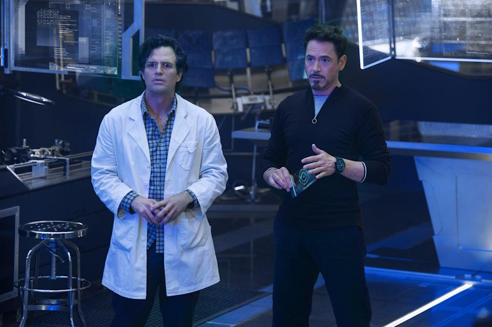 <ul> <li><strong>What to wear for Bruce:</strong> Regular business attire, but with a white lab coat on top.</li> <li><strong>What to wear for Tony:</strong> Dress as sharply as possible. Either grow your hair into a goatee or draw it on.</li> </ul>
