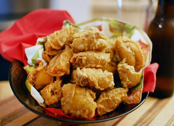 """<div class=""""caption-credit""""> Photo by: JEFFREY LOVELL</div><b>Texas Fried Fritos® Pie</b> <br> <br> """"Definitely a unique animal in the pie world,"""" as co-inventor Jeffrey """"JeFritos"""" Lovell calls it, the Texas Fried Fritos® Pie is a deep-fried rendering of a classic Southern """"pie"""" pairing: Fritos corn chips with chili and cheese. Lovell and partners debuted their creation at the 2010 Texas State Fair, selling 700,000 servings in three weeks and taking home the honors for the year's Best-Tasting New Food. As for how they get the chili and cheese to stay attached to the chips during battering and frying, Lovell played coy at first but finally divulged his secret: """"It's all about the freezing."""""""