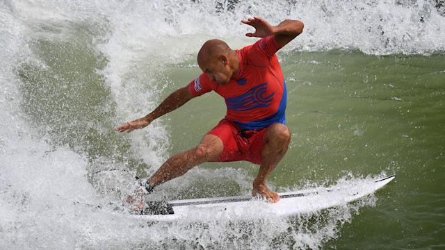 Kelly Slater said he plans to retire from professional surfing next year, but don't count him out from competing in the 2020 Olympics.