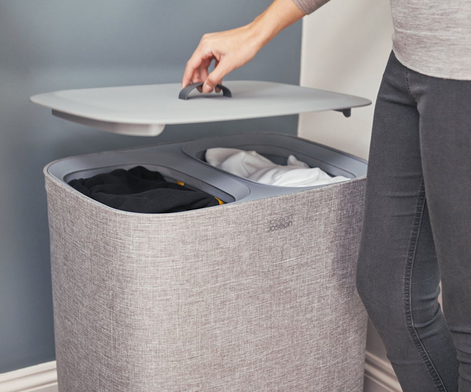 laundry basket to separate whites and blacks