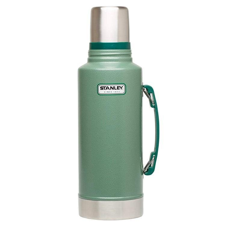 "Whether you're going glamping or preparing for the apocalypse, this stainless steel vacuum bottle will keep your beverage of choice hot or cold for up to 24 hours. $45, Amazon. <a href=""https://www.amazon.com/Stanley-Classic-Vacuum-Bottle-Hammertone/dp/B000FZX93U?ref_="" rel=""nofollow noopener"" target=""_blank"" data-ylk=""slk:Get it now!"" class=""link rapid-noclick-resp"">Get it now!</a>"