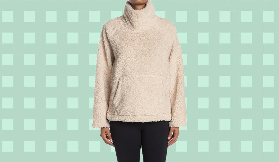 It's like you morphed into your favorite teddy bear. (Photo: Nordstrom Rack)