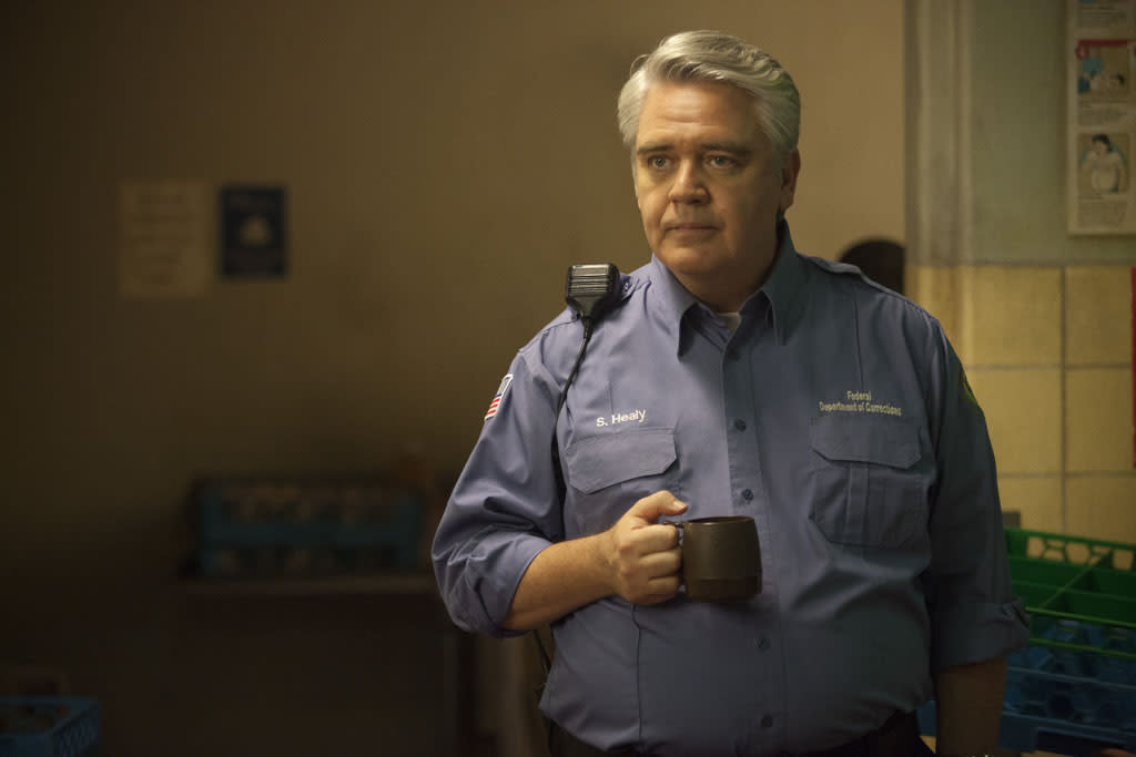 "Michael Harney in a scene from Netflix's ""Orange is the New Black."""