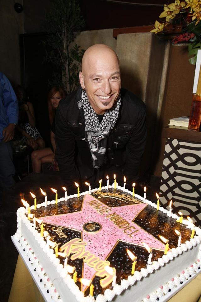 "Howie Mandel and guests celebrated his star on the Hollywood Walk of Fame with cake and Kahlua cocktails. The ""Deal or No Deal"" host awarded the show's first $1 million dollar prize last week to Jessica Robinson, a 27-year-old mother from Utah. Steve Cohn/Le Studio - September 4, 2008"