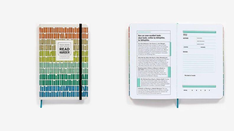 Best gifts for book lovers: Book Riot Book Journal