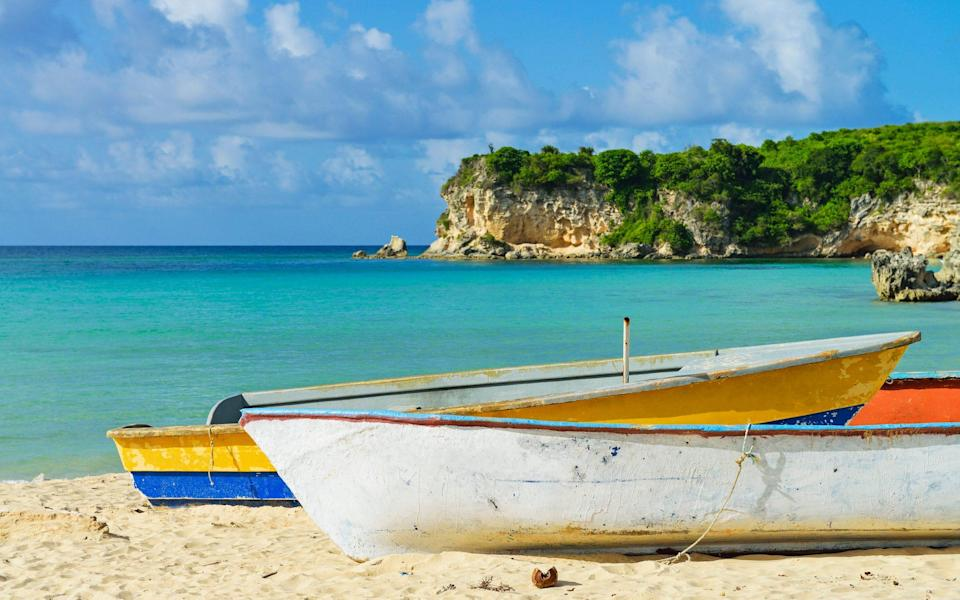 Counting down the days until you lie on a beach in the Dominican Republic is one way to get through the winter months - SAMI SARKIS