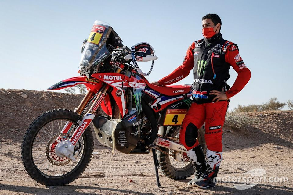"#4 Monster Energy Honda Team: Jose Ignacio Cornejo Florimo<span class=""copyright"">Honda Racing</span>"
