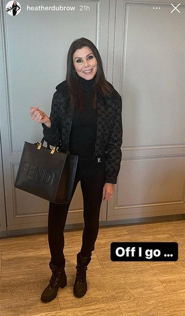 Heather Dubrow Travel Look 1