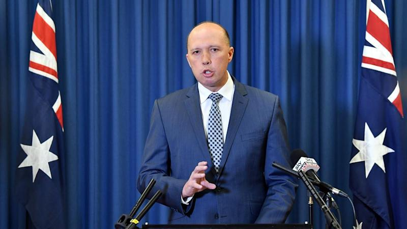 Peter Dutton has attacked Bill Shorten over Labor's stance on asylum seekers.
