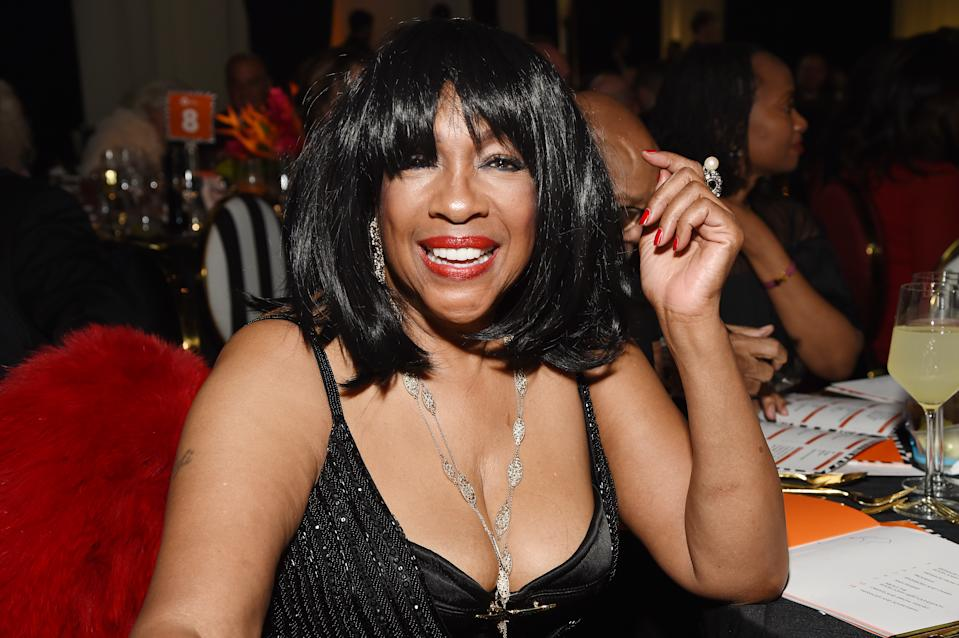 Mary Wilson attends the 28th Annual Elton John AIDS Foundation Academy Awards in 2020