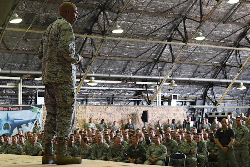 Nominee to Lead Air Force Says It May Fall Short of 386-Squadron Goal